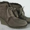 Bottines Femme Taupes INSTINCT DE MODE Pointure 40. - Photo 3
