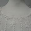 Top transparent blanc en dentelle - taille 38 - Photo 4