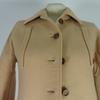 Manteau Courrèges Chic Vintage 1970 Beige taille O - Photo 1