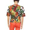 Top style veste blazer femme vintage motif tropical T.1 - Photo 3