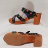 Chaussure sabot sandale mule Manoush & Monoprix P 36 cuir Talon bois - Photo 3