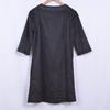 Robe noire casual chic - STRASS X.CLUSIVE - S - Photo 4