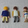 Lot de trois personnages Playmobil. - Photo 2