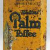 Boite En Tôle - Palm Toffee (Walters, Angleterre, Vers 1920). - Photo 3