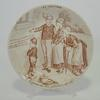 Lot de 3 assiettes parlantes Les Vocations Sarreguemines - Photo 2