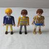 Lot de trois personnages Playmobil. - Photo 0