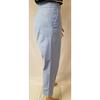 Pantalon Cos T 40 en piqué de coton bleu pastel  - Photo 3