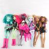 Lot de 6 Poupées Monster High et la boîte de rangement - Photo 1