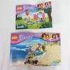 Lot de Lego Friends L'anniversaire des Lapins et Le scooter de plage de Mia - Photo 1