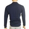 Polo vintage neuf Marigny T M / L Pull en maille fine bleu marine  - Photo 3