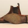 Bottines hommes Carlos Santos marron taille 9,5 - Photo 2