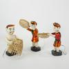 Lot de 3 figurines en bois chinois  - Photo 1