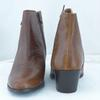 Bottines cuir marron JONAK - Pointure 36 - Photo 1