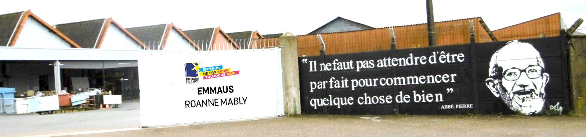 Roanne Boutique Mably Comité D'amis Solidaire Emmaüs 6PqnvfHx
