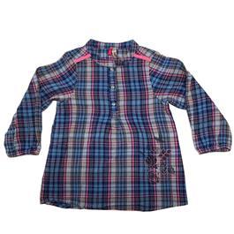 be83020af6933 Chemise blouse Orchestra pour fillette 2 ans à carreaux - Photo ...