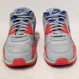 ab250b70daf2ba ... Basket sneakers Nike Airmax 90 P 38,5 Chaussures sport coloris gris  bleu rose -