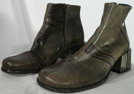 De Et Vintage Chaussures Pas Cher Marque Sur Femme Mode Bottes P4EEwqOv
