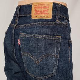 W T jean Pantalon Levi's Slim 514 Levi homme Strauss Straight 28 6q1qwf