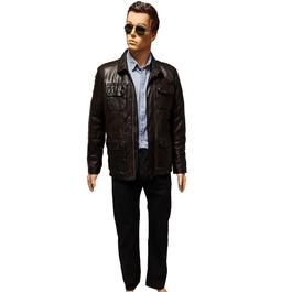725b52777be ... Blouson veste Oakwood en cuir pour homme T S - Photo 1