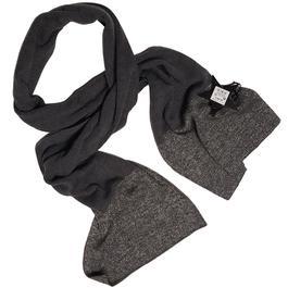 Neuf   étiquette longue écharpe Monoprix maille grise et brillante - Photo  ... 0984422d0f1