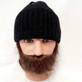 582f4a8753a5 Neuf   étiquette bonnet noir Monoprix en laine pour homme Taille unique -  Photo ...