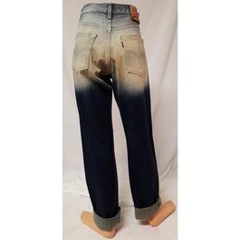 1b07bb81083af ... Pantalon Jean Levi Strauss Levi s 501 W 29   T 38 40 denim effet délavé