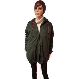 addf8a4f3d09c ... Neuf   étiquette veste parka Monoprix pour femme T 40 coloris vert  foncé - Photo 1