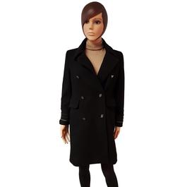 ... Manteau veste Mango en lainage noir T XS style officier militaire -  Photo 1 cb0f6bbd2cd0