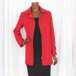 Manteau en simili cuir Incertain Temps T.M Femme