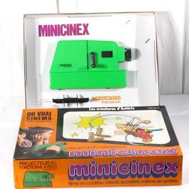 """La projection Jouet est sur la manœuvre """"Minicinex"""", Meccano, 8 mm - Image 1"""