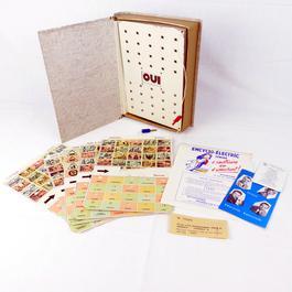 Jeu électronique vintage Encyclo-Electric Junior - Photo 0