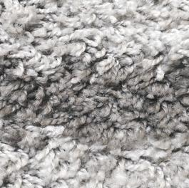 Tapis Nora Shaggy Gris - Photo 1