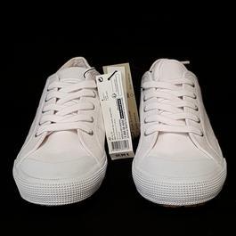 aef6a5848b3cc ... Neuves   étiquettes Chaussures Sneakers Baskets Monoprix P 40 en toile  blanche - Photo 1