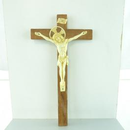 Crucifix en bois - Photo 0