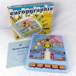 """Jeu électrique vintage """"Europgraphie"""" France Jouets - Photo 0"""