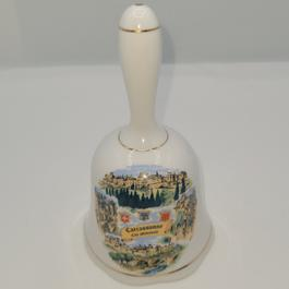 Cloche en porcelaine 100% ancienne Carcassonne - Photo 0