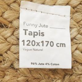 Tapis de jute rigolo - Photo 1