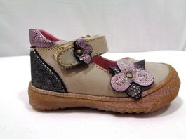 f6a1174d01e9c ... Chaussures cuir enfant pour fille - ANDRE - Taille 19 - Photo 1
