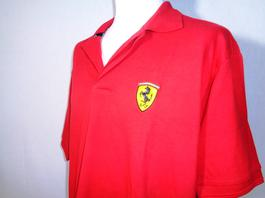 b0425da3326 ... Polo rouge - FERRARI - Taille L - Photo 1
