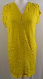 7cc958eb2531 Robe jaune droite - AMERICAN VINTAGE - Taille S - Photo 0 ...