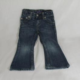 6456797171134 Jeans fille bas évasé LEVIS taille approximative 5/6 ans - Photo ...