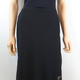 4d0997ae1c6 Jupe longue noire transparente plissée - Taille 34 sur Label Emmaüs ...