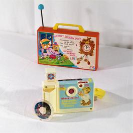 Lot de 2 jouettes, jouets Fisher Price des années 70.  - Figure 1
