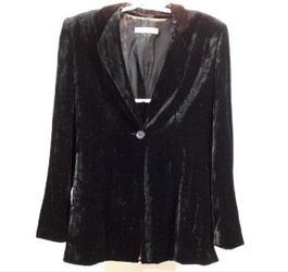 Ensemble femme pantalon-veste noir Emporio Armani en viscose taille 42 -  Photo 0 ... 219fb37f161