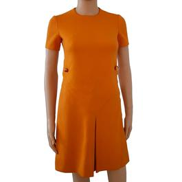 19caa6b8980 ... Ensemble orange mini robe   spencer vintage années 60 Taille 34 - Photo  1