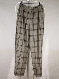 Pantalon droit femme Sonia Rykiel marron à carreaux taille 42 - Photo 0 ... c0be24fd0a3c