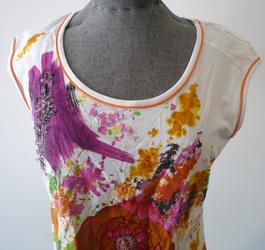893b5a169db5 ... T-Shirt sans manches Femme FINETTE taille 4 - Photo 1