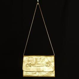 e8059a18db Pochette cuir laminé doré JONAK - Photo 0 ...