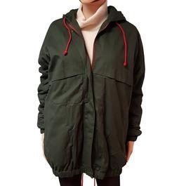 Neuf   étiquette veste parka Monoprix pour femme T 40 coloris vert foncé -  Photo ... c0bed7179642