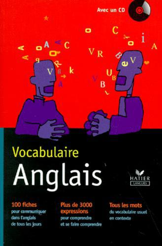 VOCABULAIRE ANGLAIS. Avec un CD - Photo 0